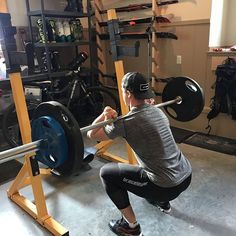 Getting podium ready with Knee Sleeves, Whistler, Braces, Squats, The Row, Gym Equipment, Button Suspenders, Squat, Workout Equipment