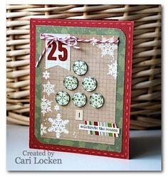 Card created by Cari Locken using Handmade Holiday
