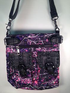 Muddy Girl Crossbody Messenger Bag