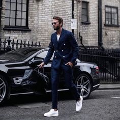 """Mi piace"": 356, commenti: 22 - Suit Style 7  (@suit_style7) su Instagram: ""Rocking style today!  Love that jacket with a white shirt  . . _________________________…"""