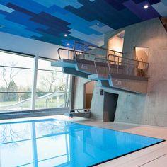 Therme Wien by 4a Architekten ~ http://www.dezeen.com/2012/10/28/renovation-of-the-racz-thermal-baths-by-budapesti-muhely/ via @Dezeen magazine