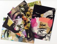 Michelle Caplan Mixed Media Collage
