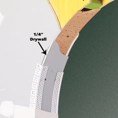 Converting a plain entryway into a curved door arch is a great way to give a room a new look and feel. Hanging Drywall, Drywall Screws, Archways In Homes, Archway Decor, Arch Doorway, Wood Arch, Project Steps, Arched Doors, Diy Furniture Easy