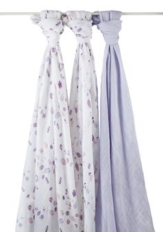 Aden & Anais | Organic Cotton Swaddles – Once Upon A Time (3-pack)