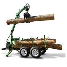 Lawn and Garden – Simple Tips For Success Log Trailer, Trailer Diy, Utv Trailers, Landscape Trailers, Tractor Attachments, Farm Tools, Tree Company, Engin, Hobby Farms