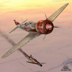 Military Aircraft Art Images Lavochkin La-5FN More