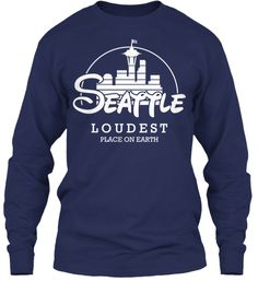 Loudest place on Earth - Seattle Seahawks!  This is genius