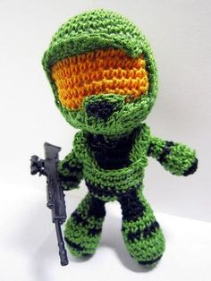 Master Chief has never looked so cute. #Halo #Xbox (M)