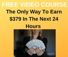 FREE Video Exposes How One Newbie Made $22,397 in less than 24 Hours   #howtomakemoney #makethatmoney #workathome #workfromhome #homebusiness #internetmarketing #onlinejobs #coronawirus #lockdown #stayhome #pandemic #quaratine #facemask #ppe #KN95 #N95 #Covid19 #stayathome Online Cash, Online Jobs, Make Money Online, How To Make Money, Internet Marketing Course, Online Marketing, Home Based Business, The Only Way, Seo
