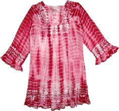 17987992fb7e6 Gypsy Rose Tie Dye Tunic Dress