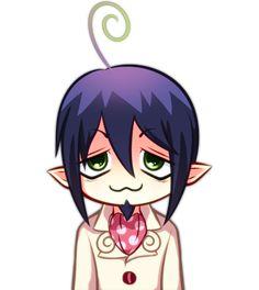 Mephisto Pheles Chibi Icon by ciOcco-banAna on DeviantArt An No Exorcist, Blue Exorcist Mephisto, Blue Exorcist Anime, Fullmetal Alchemist, Rin Okumura, Japanese Film, Manga Love, Anime Stickers, Anime Comics