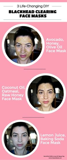 DIY Blackhead Face Mask Infographic *** Get a free blackhead mask, link in bio! @beautycharcoal