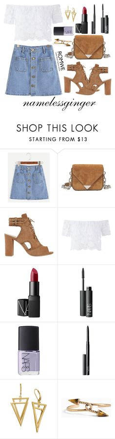 """""""untitled #522"""" by namelessginger ❤ liked on Polyvore featuring Alexander Wang, Alexandre Birman, NARS Cosmetics and Torrid"""