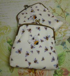 Honey Bee Clutch Bag