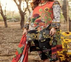 Buy Regalia presents Lawn Summer collection Lawn With Lawan Embroidery Suit Asifa n 89 Embroidery Suits, Summer Collection, Chiffon, Tops, Silk Fabric, Sheer Chiffon