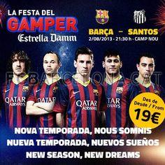 Tickets Gamper #FCBarcelona #Tickets #CampNou #Gamper