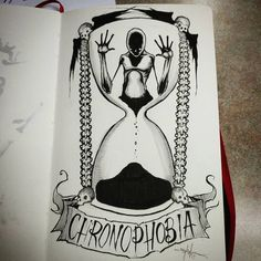 """7,212 Likes, 38 Comments - Shawn Coss (@shawncoss) on Instagram: """"Chronophobia - day 20 of #inktober / #feartober . Amnclothing.com book release Nov. 1! --------…"""""""