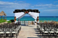 This canopy is a little different. Like how the chairs match the canopy accents.