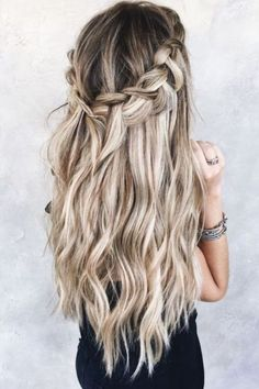 sweep blonde bronde hair – prom hair – … - All For Hairstyles Popular Short Hairstyles, Braided Hairstyles, Cool Hairstyles, Hairstyle Ideas, Natural Hairstyles, Wedding Hairstyles, Pompadour, Natural Hair Styles For Black Women, I Love Makeup