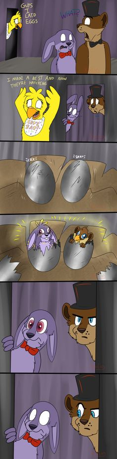 FNaF - Chica's Eggs by Koili.deviantart.com on @DeviantArt