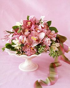 The Language of Flowers from Martha Stewart Wedding.