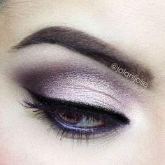 Smoke show with purple