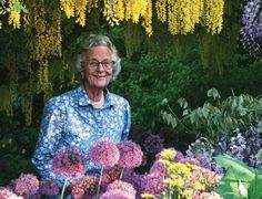 Rosemary Verey, quintessential English gardener and former owner of Barnsley House