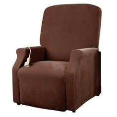Stretch Pique Lift Recliner Cover - Sure Fit