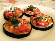 Fırında Mini Patlıcan Pizza – Nefis Yemek Tarifleri Pizza, Avocado Egg, Bruschetta, Eggs, Breakfast, Ethnic Recipes, Foods, Morning Coffee, Food Food