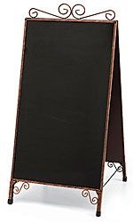 The Cobblestone A Frame Chalkboard Sidewalk Sign from Store Supply is a great way for retail stores & boutiques to attract customers to sales & specials. Sidewalk Signs, Sidewalk Chalk, Molduras Vintage, Salon Signs, Framed Chalkboard, Farm Shop, Blackboards, Menu Restaurant, Boutique