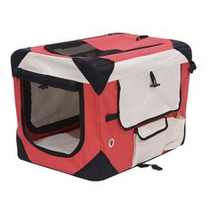 Pawhut Soft Sided Folding Crate Pet Carrier ^^ Insider's special review you can't miss. Read more  : Dog crates