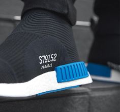 "Another Look At The Adidas NMD City Sock ""Core Black"" By... http://SneakersCartel.com #sneakers #shoes #kicks #jordan #lebron #nba #nike #adidas #reebok #airjordan #sneakerhead #fashion #sneakerscartel"