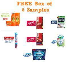 FREE BOX of 6 SAMPLES!