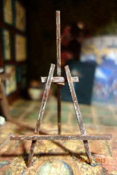 how to: easy easel