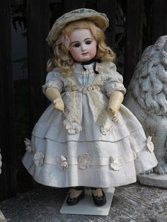 "18""~~~ Very Nice French Bisque Bebe by Rabery and Delphieu ~~~"