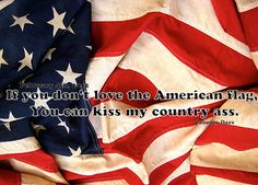 If you don't love America....