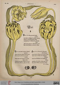 Jugend magazine, 1896.