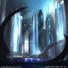 Fantasy Flight Games 'REX' Artwork 7 by D--CO.deviantart.com on @DeviantArt