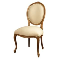 Check out this item at One Kings Lane! Barnes Linen Side Chair