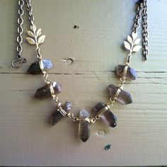 Healing+Crystal+Statement+Necklace+by+daniellerosebean+on+Etsy,+$168.00