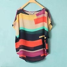 $11, Multi-coloured bat wing shirt, free shipping from Ebay
