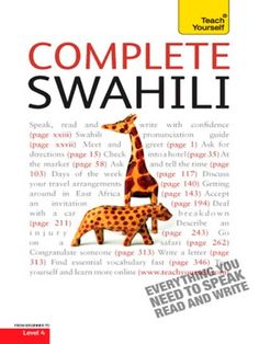Complete Swahili Beginner to Intermediate Course ebook by Joan Russell - Rakuten Kobo Indonesian Language, Italian Vocabulary, Learning A Second Language, Grammar Tips, Thematic Units, Learn To Read, Page Design, How To Introduce Yourself, Teaching