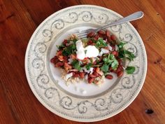 Copycat Chipotle Beans and Rice: cilantro-lime rice with Mexican pinto beans