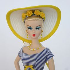 "OOAK Handmade Vintage Barbie/Silkstone Fashion by Roxy- ""AHOY""  #FITSVINTAGEREPRODUCTIONSANDSILKSTONEBARBIE"