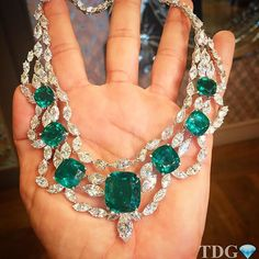 IT'S HARD TO DESCRIBE HOW I FELT HOLDING THIS MOUSSAIEFF EMERALD AND DIAMOND NECKLACE....to me, jewelry is art, and @moussaieffjewellers are the master artists!!! Spellbound and breathtakingly beautiful @moussaieffjewellers
