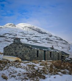 """The author of the Scottish Bothy Bible told BBC Scotland: """"Part of the reason it took so long was that I only went out in weather windows to get all the photography in good weather.  """"In Scotland that takes quite a bit of time."""""""