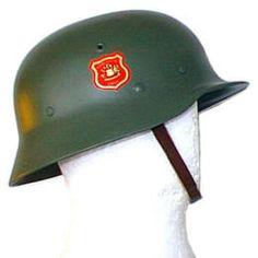 "Chile Casco Mº ""alemán ejército"" (fibra)"