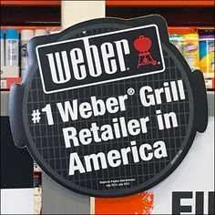 This very famous brand gets ready for peak season sales early with an impressive Weber Grill Department Pre-Season Lineup. Weber Grill, Lineup, Carousel, Hooks, Grilling, Display, Seasons, Ring, Rings