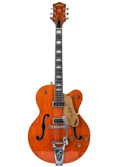 Gretsch Gretsch 6120 Chet Atkins Hollowbody 1957 Duane Eddy, Chet Atkins, Gretsch, Vintage Guitars, George Harrison, Black Felt, Plexus Products, Body Shapes