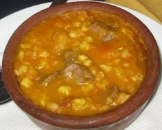 Argentine Locro--a heavy stew with lots of meats.  Perhpas one of the most classic of traditional Argentine cuisine #locro
